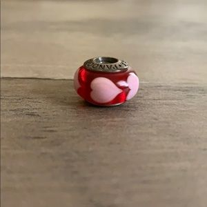 Pandora Murano glass heart charm